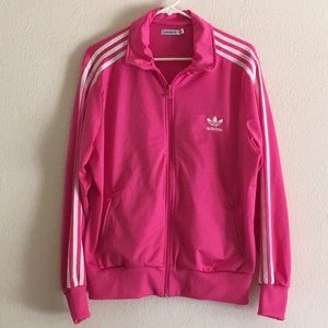 Adidas Pink Track Jacket in Sz XL